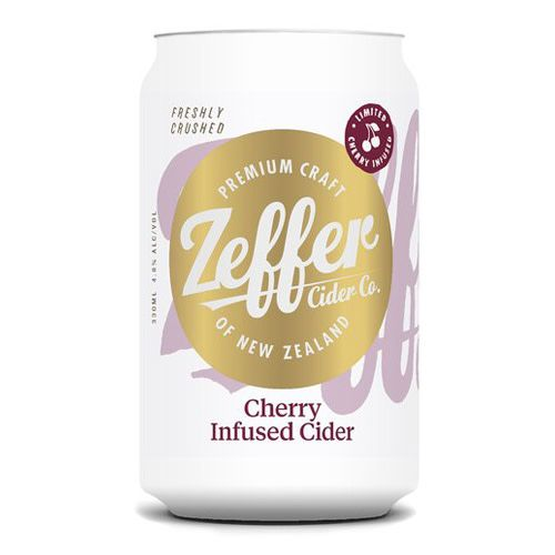 Zeffer Zeffer Cherry Infused can