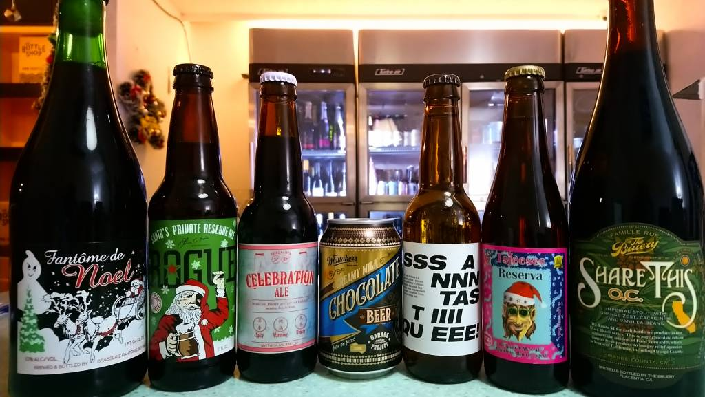 7 Days 'til Christmas! Here Are 7 Beers & 7 Spirits To Keep Your Day Merry