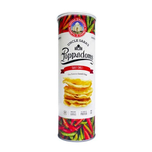 Uncle Saba's Poppadoms Uncle Saba's Poppadoms Sweet Chilli 70g