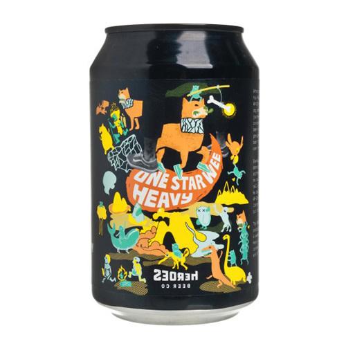 Heroes Beer Heroes Beer SNAP-09 One Star Wee Heavy Scotch Ale