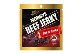 Nobbys Nobbys Beef Jerky Hot & Spicy