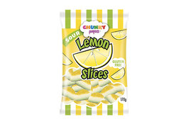 Chunky Sour Lemon Slices 170g
