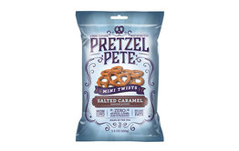 Pretzel Pete Pretzel Pete Mini Twists Salted Caramel 100g