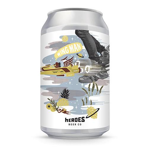 Heroes Beer Heroes Beer Wing Man Pineapple Berliner Weisse