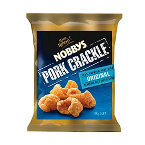 Nobbys Nobbys Pork Crackle Original 25g