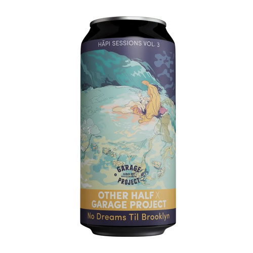 Garage Project Garage Project collab Other Half No Dreams Til Brooklyn NEIPA