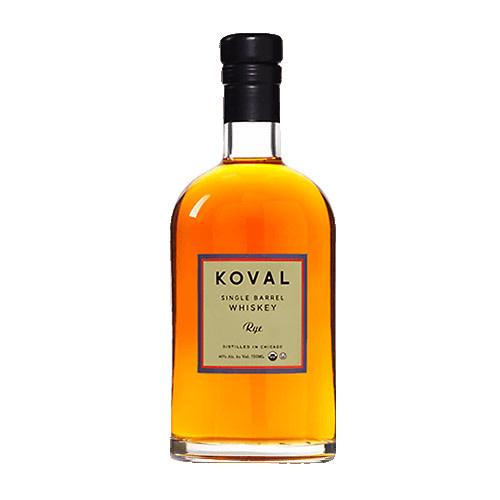 Koval Koval Single Barrel Rye Organic Whiskey, U.S.