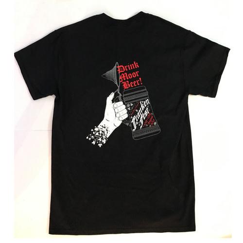 Moor Moor 11 black T shirt size M