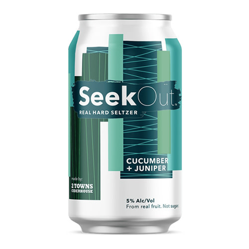 Seek Out Seek Out Cucumber & Juniper Seltzer