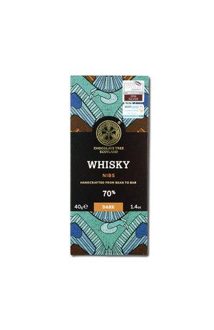 Chocolate Tree Chocolate Tree Whisky Nibs 70% 40g