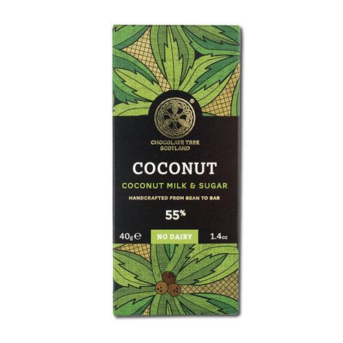 Chocolate Tree Chocolate Tree Coconut Milk 55% 40g