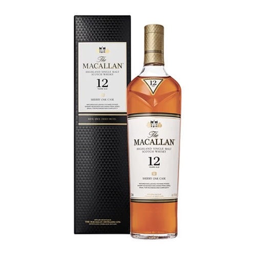 The Macallan The Macallan 12 Years Sherry Oak Single Malt Whisky