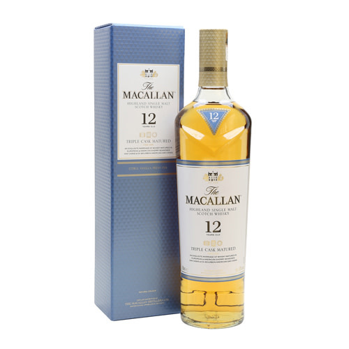 The Macallan The Macallan 12 Years Triple Cask Matured Single Malt Whisky