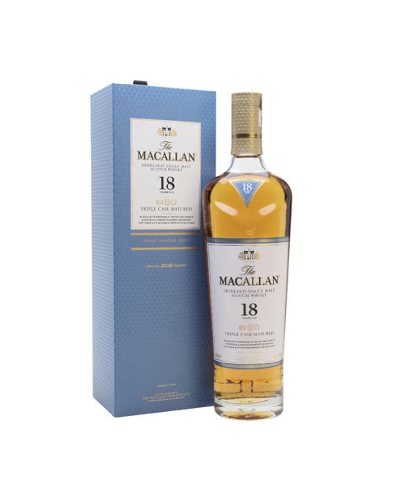 The Macallan The Macallan 18 Years Triple Cask Matured Single Malt Whisky