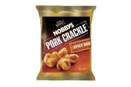 Nobbys Nobbys Pork Crackle Spicy BBQ 25g