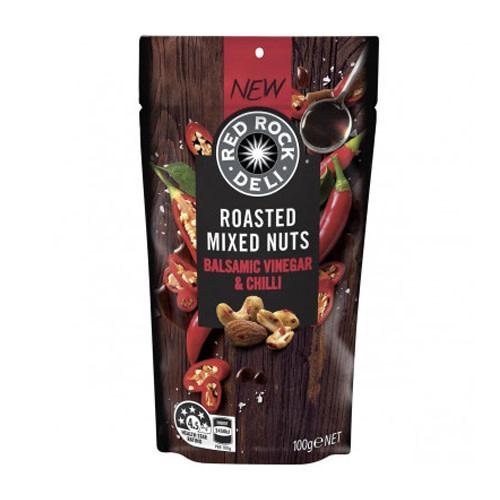 Red Rock Deli Red Rock Deli Nuts Balsamic Vinegar & Chilli 100g