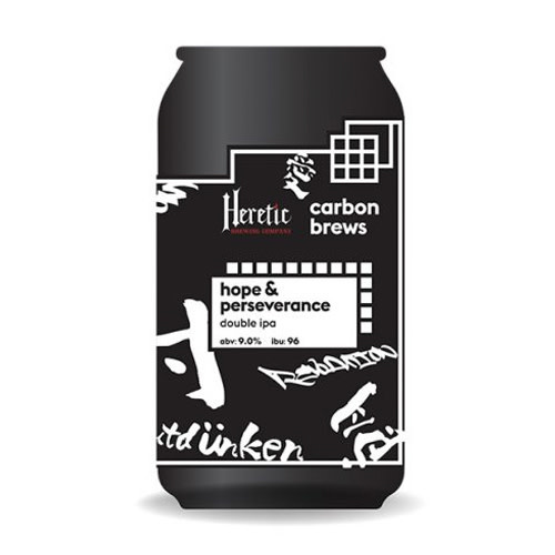 Carbon Brews Carbon Brew x Heretic Hope And Perseverance Double IPA