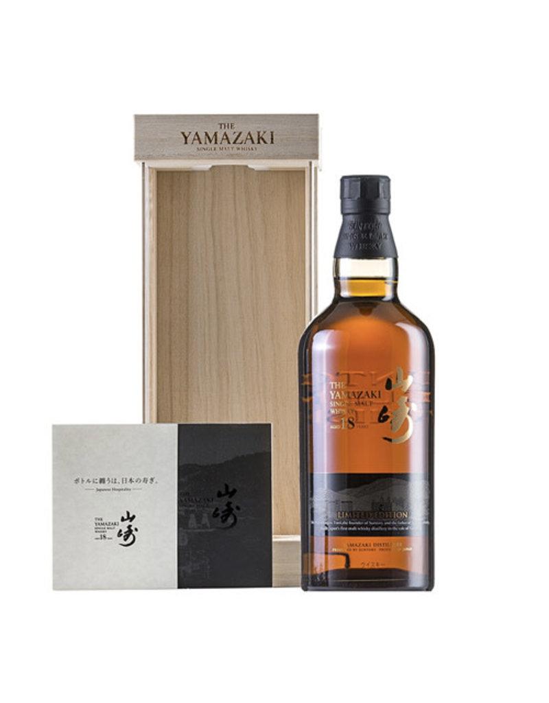 Suntory Suntory Yamazaki 18 Years Old Single Malt Japanese Whisky Limited Edition