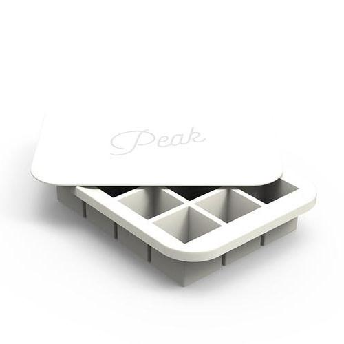 Peak Ice Works W&P Peak Ice Works Everyday Ice Tray White 3cm x 3cm