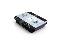 Peak Ice Works W&P Peak Ice Works Everyday Ice Tray Marble Black 3cm x 3cm