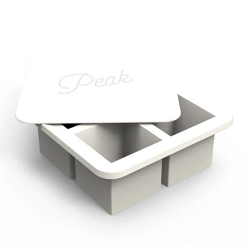 Peak Ice Works W&P Peak Ice Works Extra Large Ice Cube Tray White 5.7cm x 5.7cm