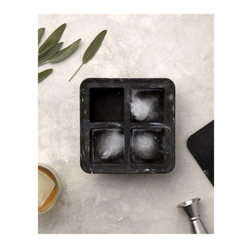 Peak Ice Works W&P Peak Ice Works Marble Extra Large Ice Cube Tray White 5.7cm x 5.7cm