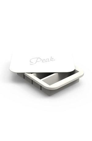Peak Ice Works W&P Peak Ice Works Collins Ice Tray White 11cm Long