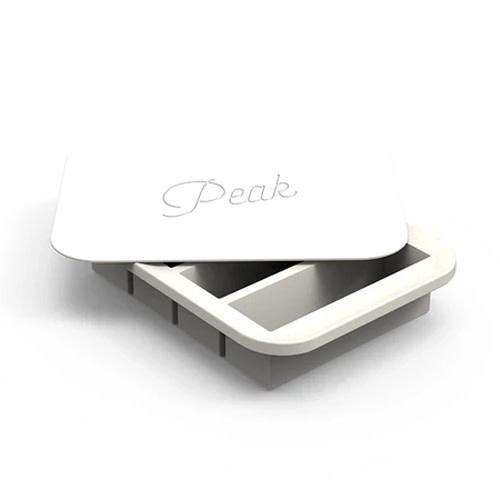 Peak Ice Works W&P Peak Ice Works Collins Ice Tray White 11cm Long