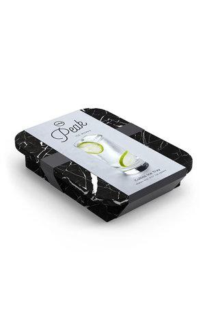 W&P Design W&P Peak Ice Works Collins Ice Tray Marble Black 11cm Long