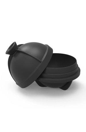 W&P Design W&P Peak Ice Works Single Sphere Ice Mold Charcoal 6cm