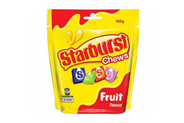 Starburst Starburst Fruit Chews Bag 165g