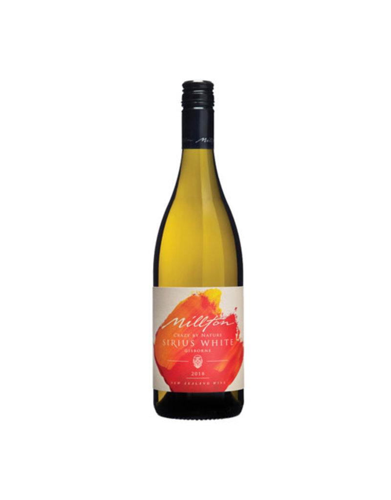 The Millton Vineyard Millton Crazy by Nature Sirius White 2019, Chardonnay, Viognier, Marsanne, Gisbourne, New Zealand