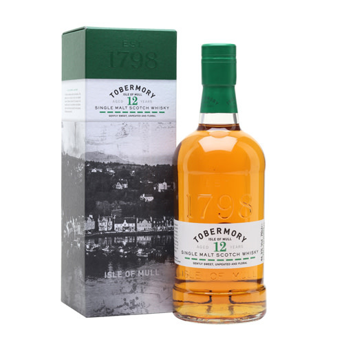 Tobermory Tobermory 12 Years Single Malt Scotch Whisky