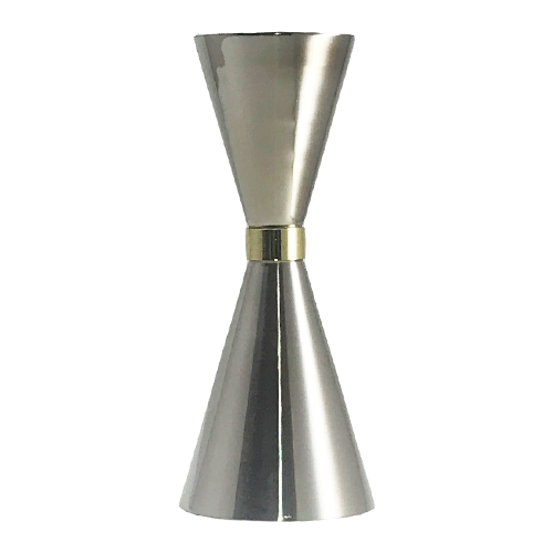 Cocktail Japanese Style Jiggers Silver 30ml-45ml