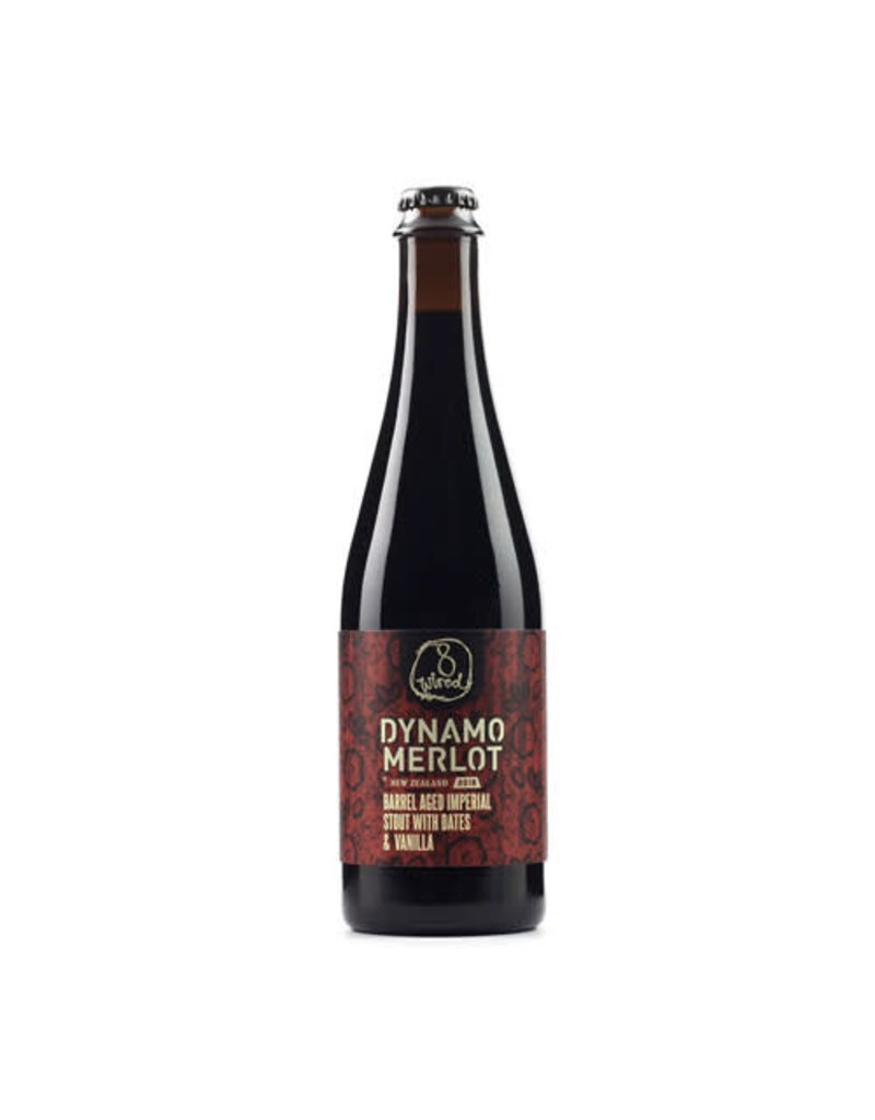 8Wired Brewing 8Wired Dynamo Merlot Barrel Aged Imperial Stout