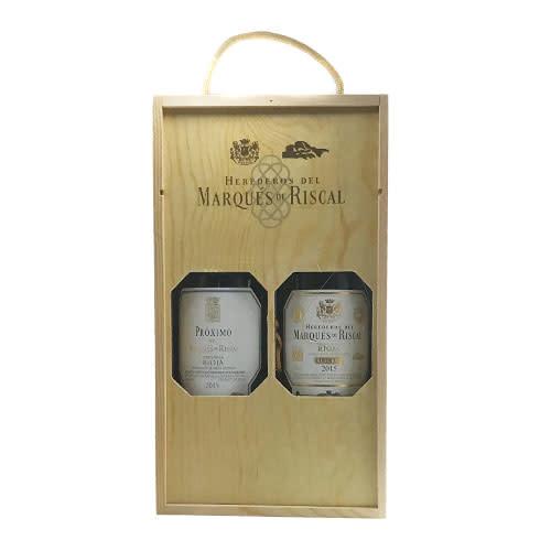 Marques de Riscal Marqués de Riscal Wooden Gift Set