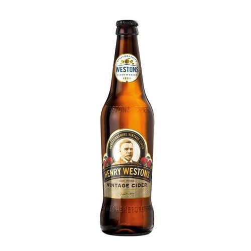 Westons Westons Henry Westons Oak Aged Vintage Cider 500ml