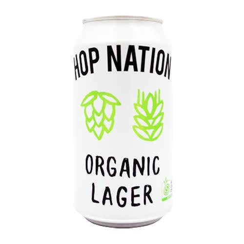 Hop Nation Brewing Hop Nation Organic Lager