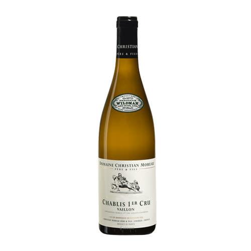 Christian Moreau Christian Moreau Vaillon 2018, Chardonnay, Chablis Premier Cru, Burgundy, France