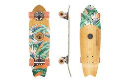 """Globe Brand Globe 26"""" Sagano Bamboo Black Birds Cruiser Skateboard"""