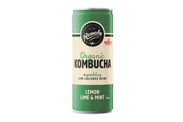 Remedy Remedy Organic Kombucha Lemon Lime & Mint can