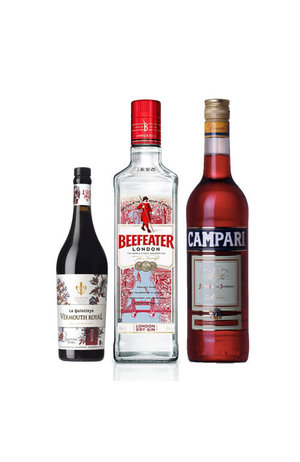 Negroni Combo (Beefeater Gin + Campari + La Quintinye Vermouth Rouge)