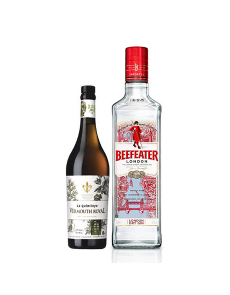 Martini Combo (Beefeater Gin + La Quintinye Vermouth Extra Dry)