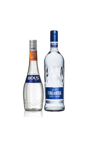 Cosmopolitan Combo (Finlandia Vodka + Bols Triple Sec 38%)
