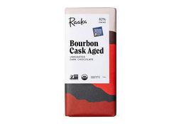 Raaka Chocolate Raaka Chocolate Bourbon Cask Aged 82% 50g