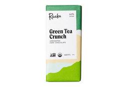 Raaka Chocolate Raaka Chocolate Green Tea Crunch 66% 50g
