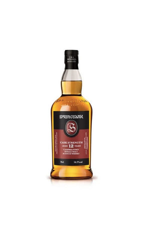 Springbank Springbank 12 Cask Strength Single Malt Whisky, Campbeltown