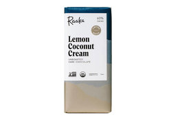 Raaka Chocolate Raaka Chocolate Lemon Coconut Cream 60% 50g