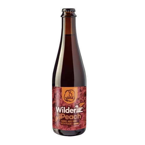 8Wired Brewing 8Wired Wilder Peach Barrel Aged Sour Ale