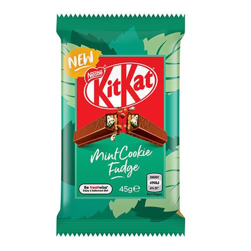 Kit Kat KitKat Mint Cookie Fudge 45g